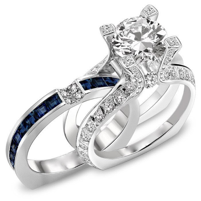 Wedding And Engagement Ring Set Laura Williams