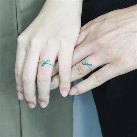 Wedding Ring Tattoos Ideas   Ring Finger Tattoo for