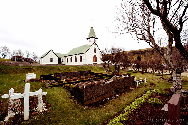 Iceland - Prayers on the hill