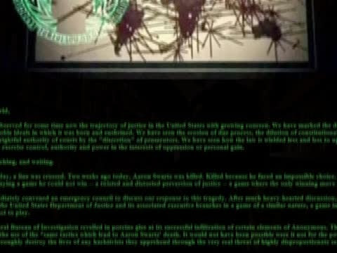 黑客声称成功侵入美司法部网站