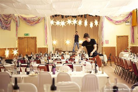 village hall wedding decor   Wedding Decoration Ideas