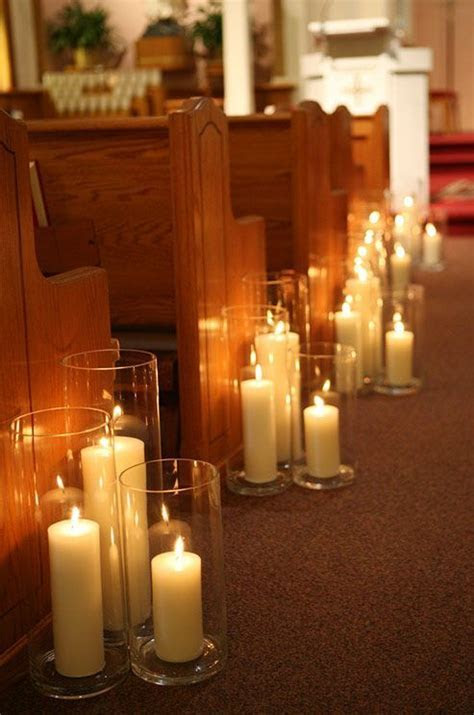 Decorating Weddings With Candles   Ceremony backdrop