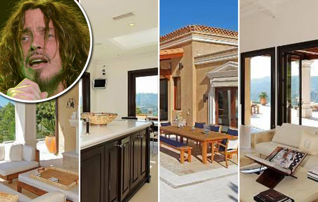Exclusive: Chris Cornell Lists Stunning Italian-Villa!