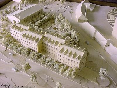 Model of Riggs Alumni Center