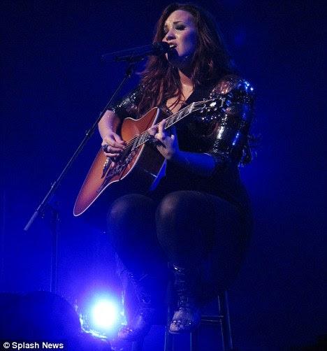 Multi-talentoso: Demi está gostando de ser de volta ao seu melhor