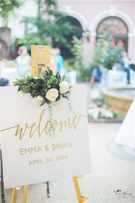25 Awesome Wedding Welcome Signs to Rock!   Page 2
