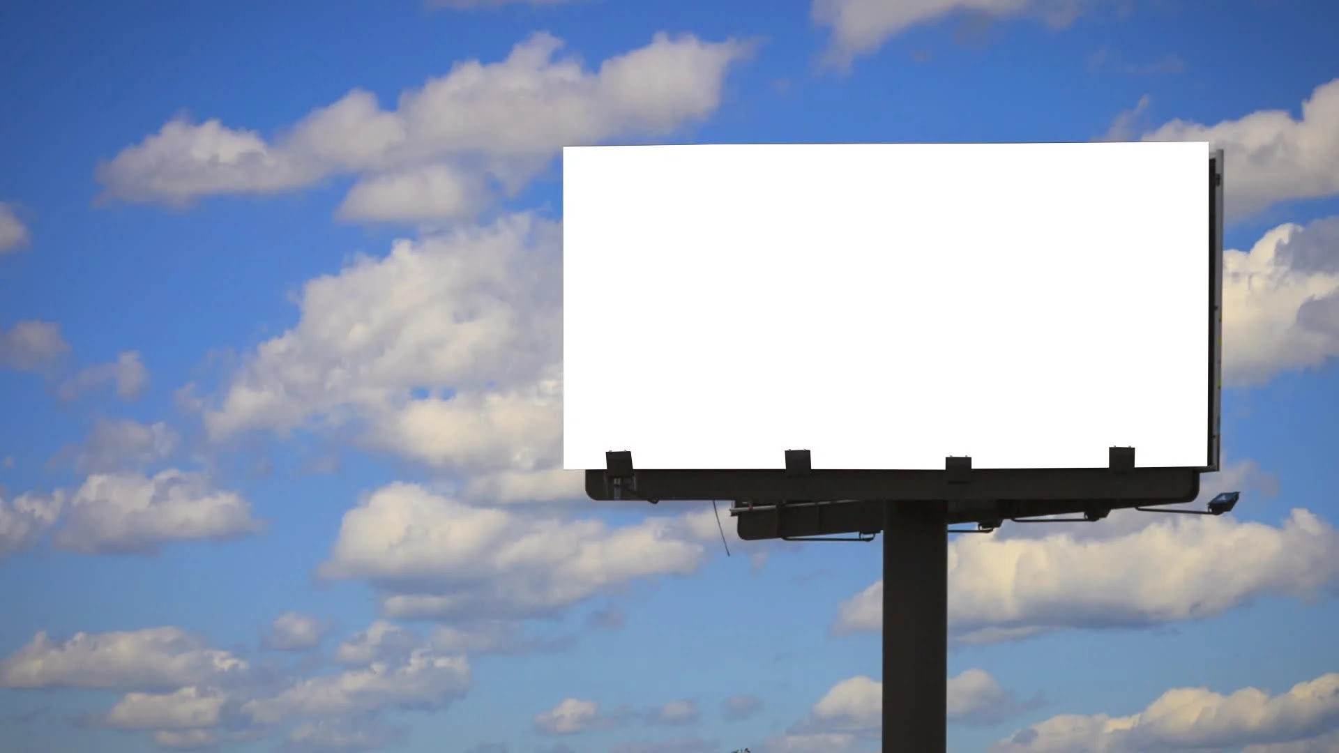 Blank Billboard Template