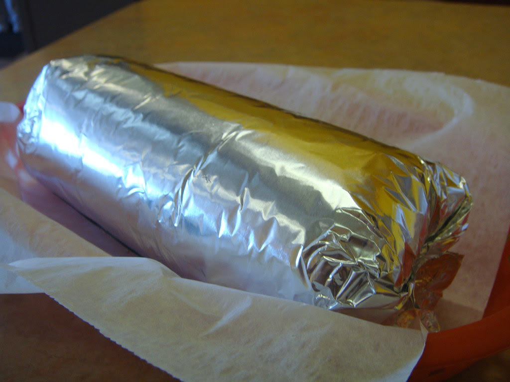 Super Vegetarian Burrito