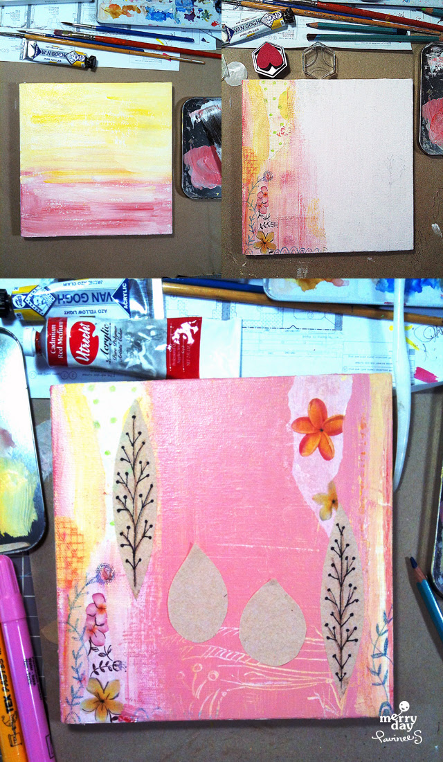 MATS Week 4 wall art process