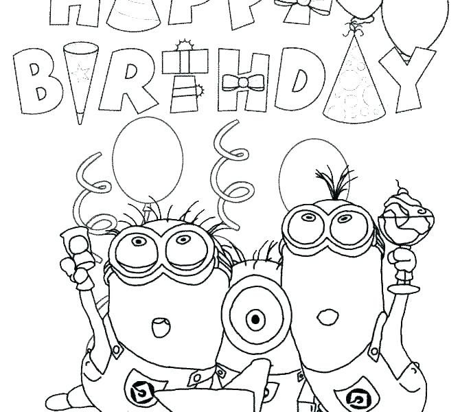 Happy Birthday Dad Printable Coloring Pages at ...