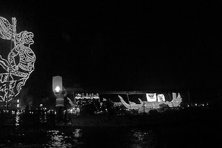 Amphawa - Man river lantern