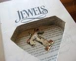 DANIELLE STEEL JEWELS hollow book safe