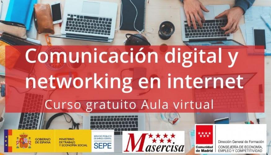 Curso de Comunicación digital y networking en internet