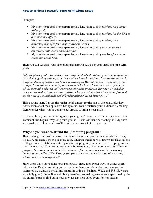 how to write a good college entrance essay