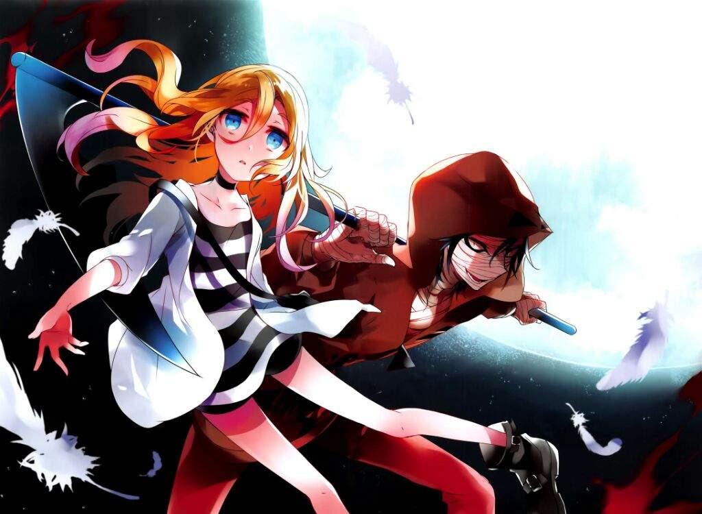 Resultado de imagen para Satsuriku no Tenshi portada