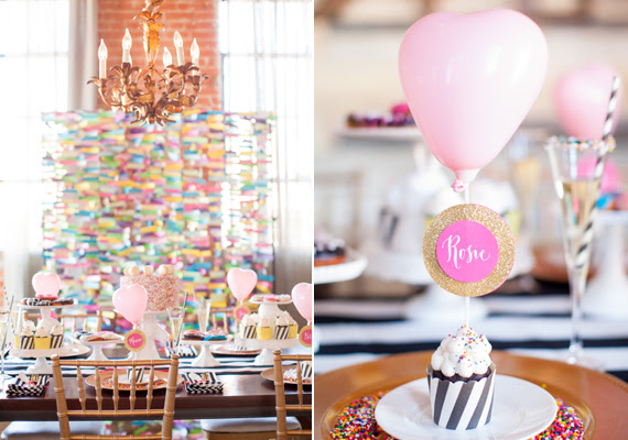 Whimsical bridal shower inspiration | Colorful party ideas | 100 ...