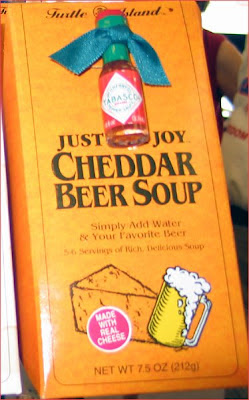 Cheddar Beer Soup