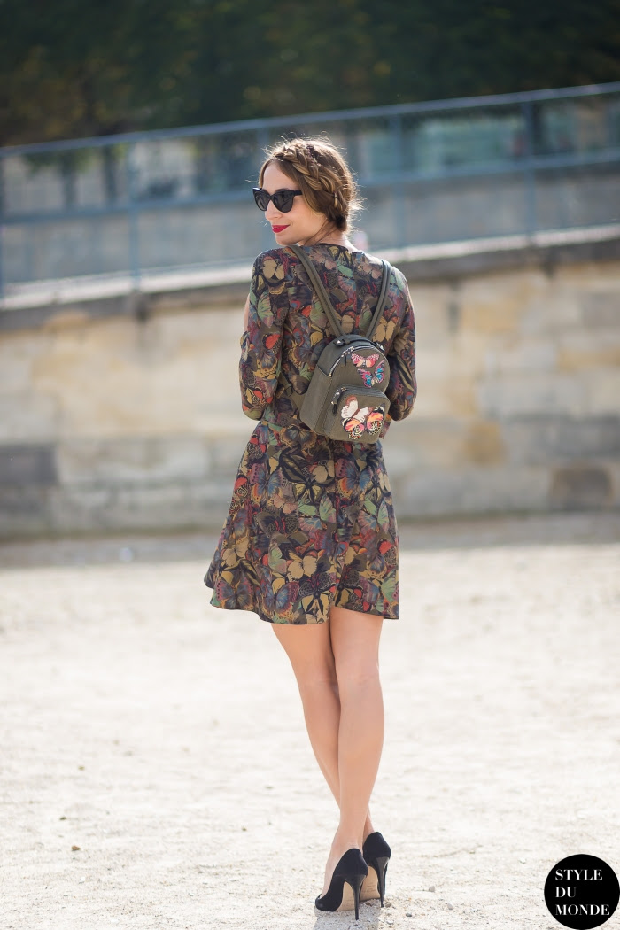 Harley Viera-Newton Street Style Street Fashion Streetsnaps by STYLEDUMONDE Street Style Fashion Blog