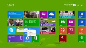 resize tiles setelah update Windows 8.1