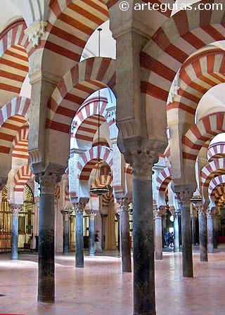 Arquerías de la Mezquita. Arte Califal