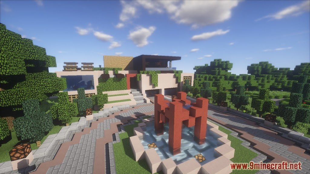 Redstone House Map 1 12 2 1 11 2 For Minecraft 9minecraft Net
