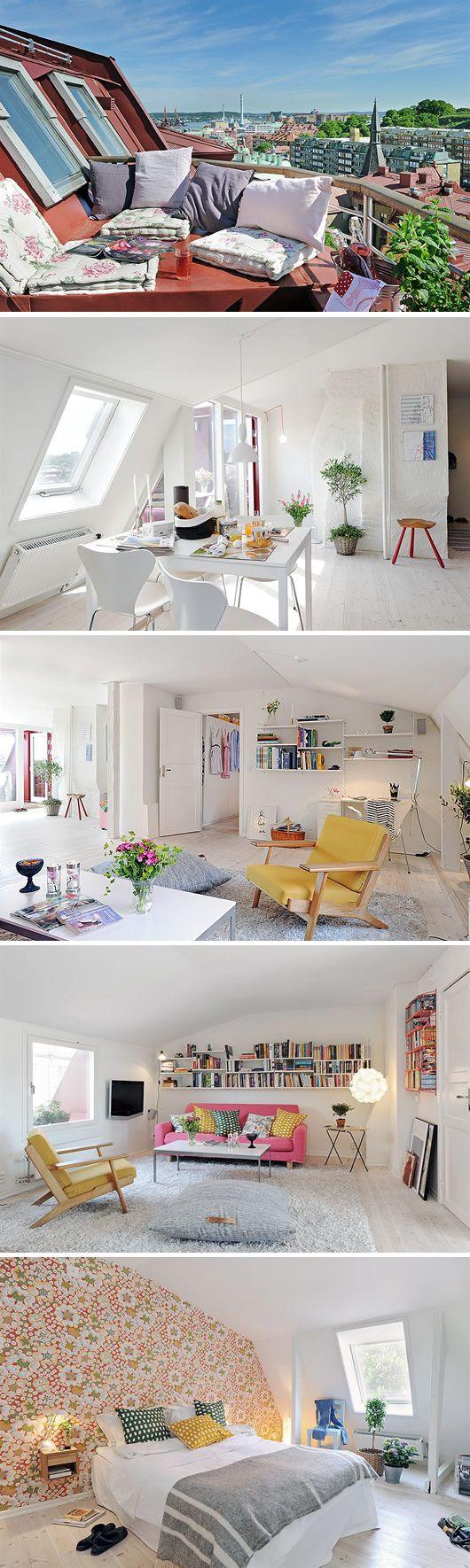 Lovely little loft appt