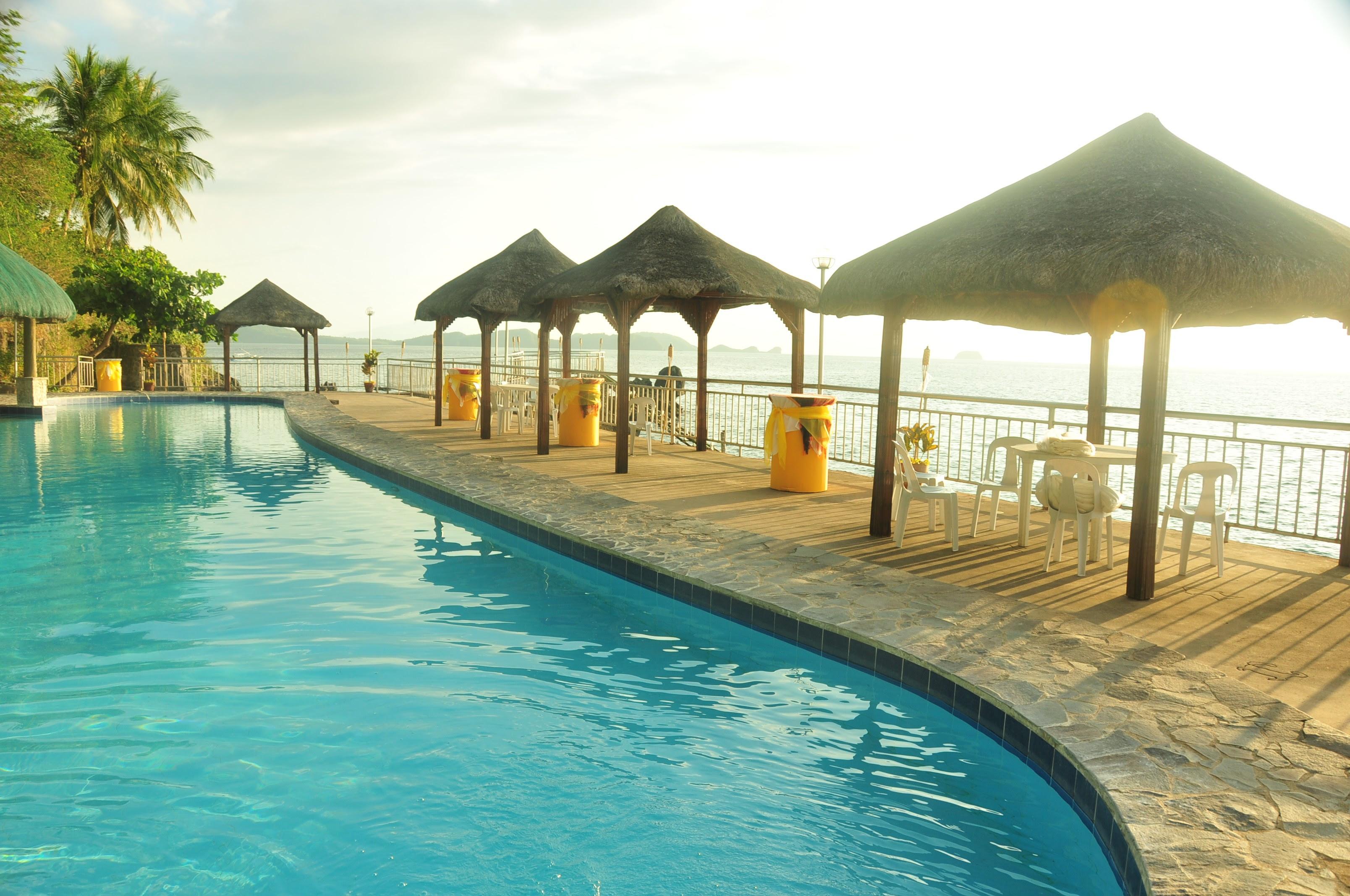 Anilao Batangas Beach Resort South End Pool Photos