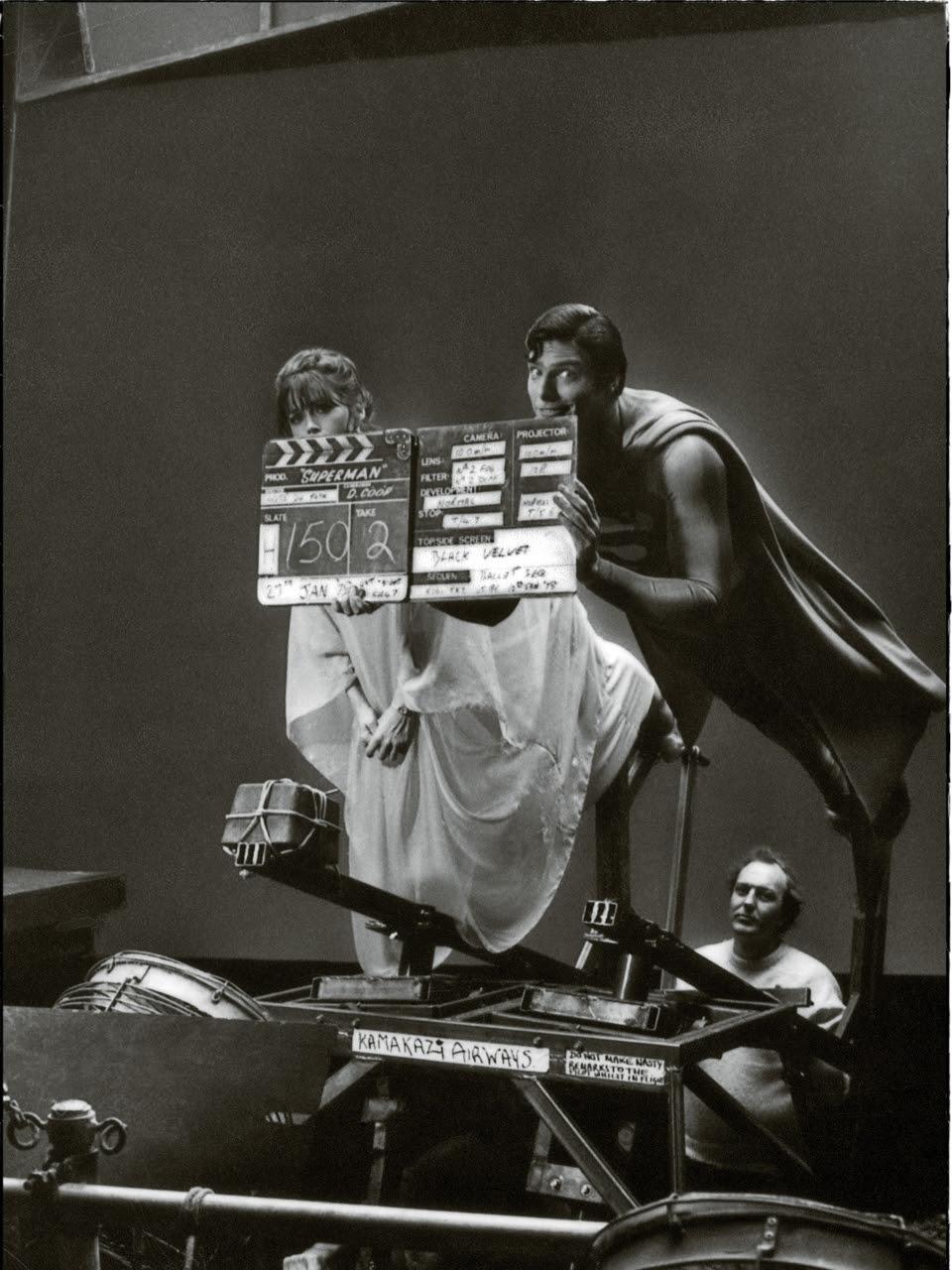 photo tournage coulisse cinema Superman 19 Photos sur des tournages de films #2  photo featured cinema 2 bonus