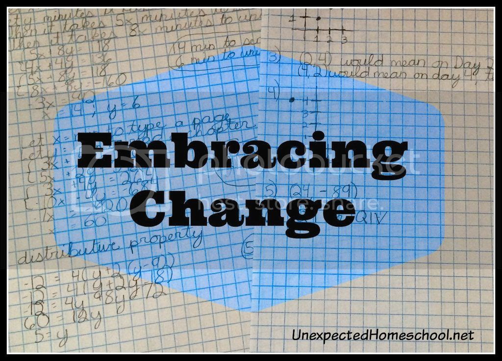 Unexpected Homeschool: Embracing Change