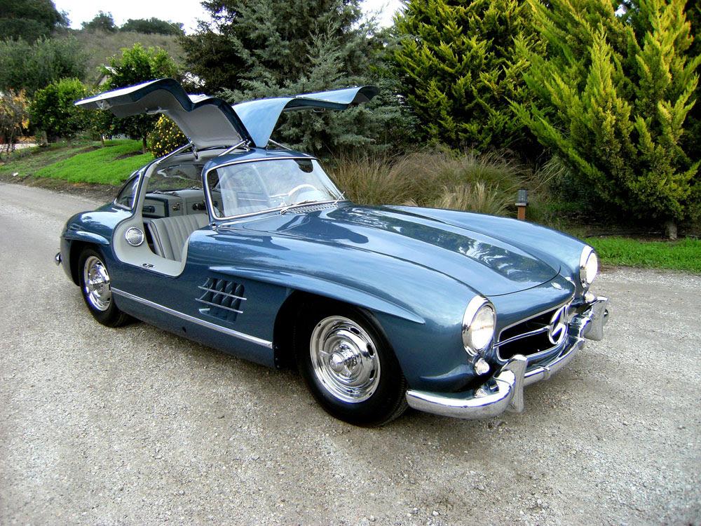 SOLD: 1955 Mercedes Benz 300 SL Gullwing - Scott Grundfor ...