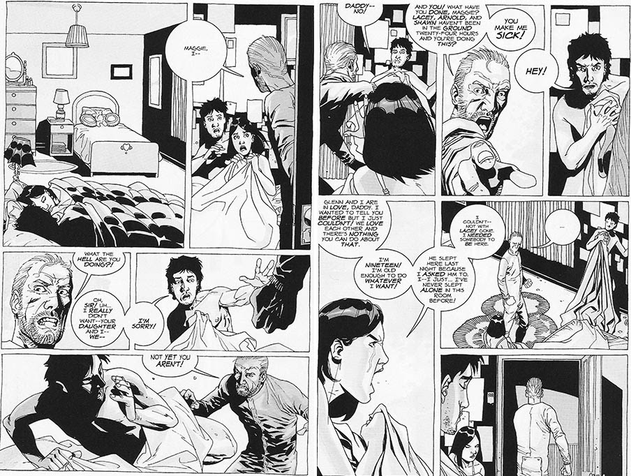 Image result for maggie and glenn comic