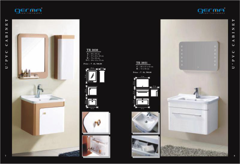 Product Catalogue Designs - GERMA Sanitarywares, Chennai. Page 4