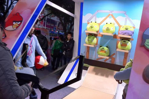 Angry Birds Game Booth