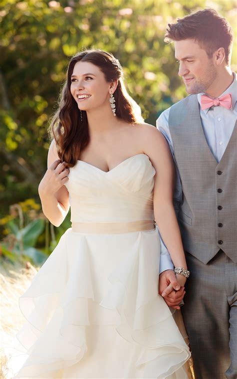 A Line Sweetheart Wedding Dress   Essense of Australia