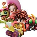 G.E.M Series Digimon Adventure - Mimi and Palmon + Koushiro and Tentomon /
