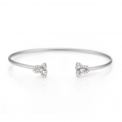 Diamond Fleur Bangle