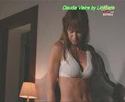 Claudia Vieira sensual em biquini e lingerie na novela Alma e Coração