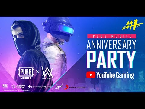 Pubg Mobile 1st Year Anniversary Party Youtube - pubg mobile 1st year anniversary party
