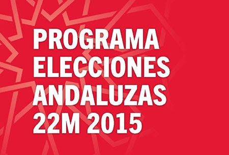 Progrma Elecciones Andaluzas