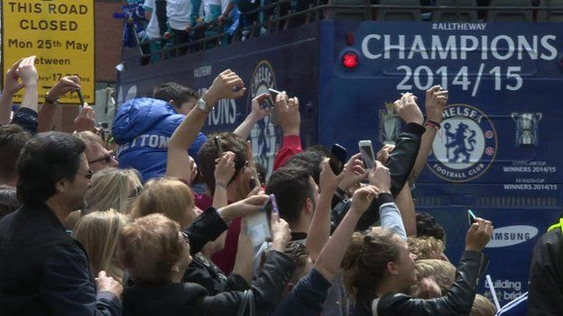 Chelsea victory parade