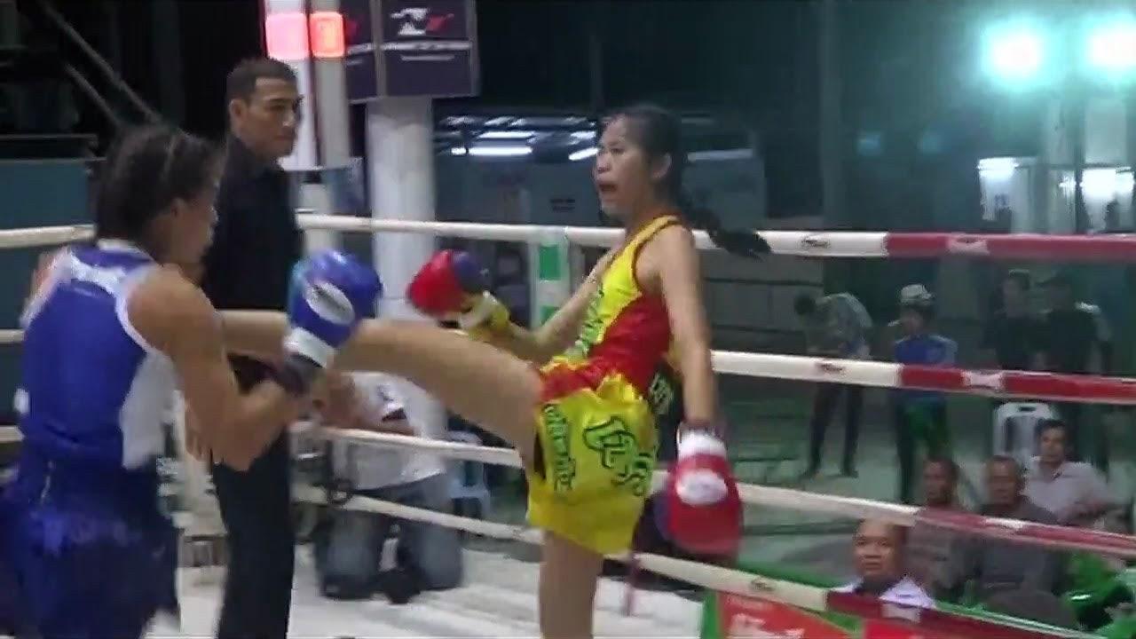 มวยไทยหญิงเชียงใหม่ ฟ้ามงคล เพชรเจริญ VS โจอี้ แบม มวยไทยล่าสุด One Night In Chiang Mai Muaythai https://youtu.be/yWMBdkphtXg