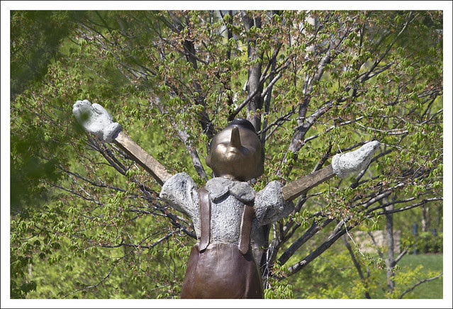 Pinocchio Celebrates Spring