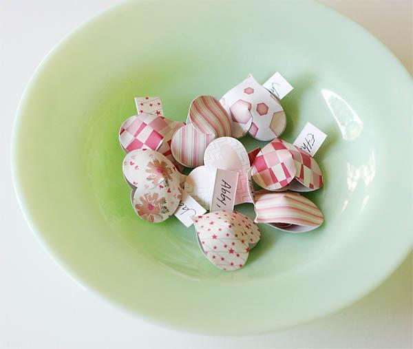 Paper Heart Valentine Pockets