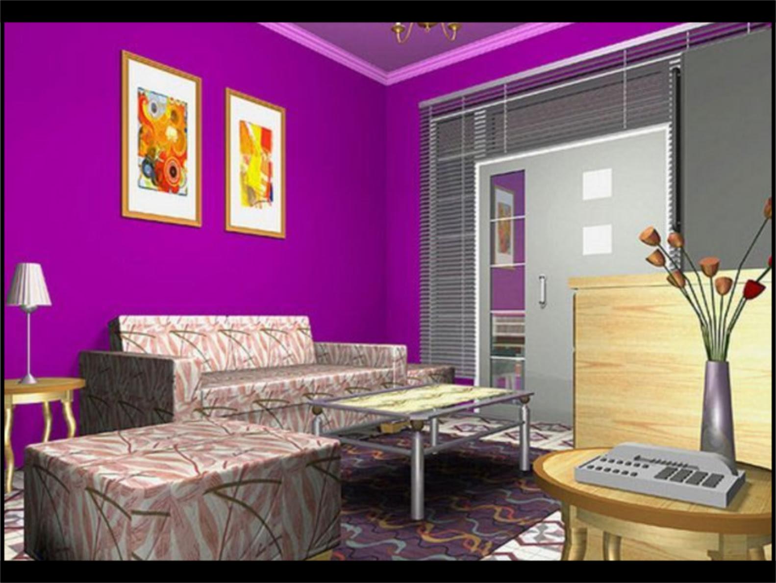 Kombinasi Warna Cat Ungu Yang Cocok | Sobat Interior Rumah