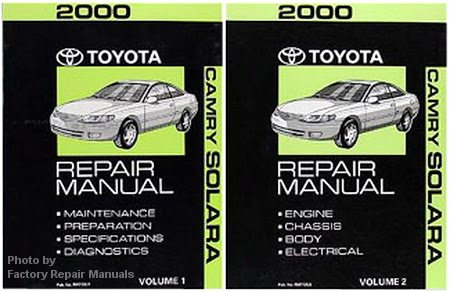 2000 Toyota Camry Solara Factory Service Manual Set ...