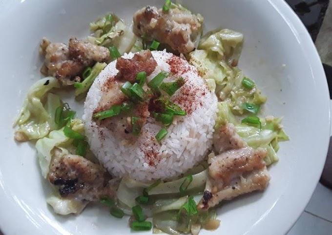 Resep Praktis Ayam Kubis tumis Mayonaise Anti Gagal