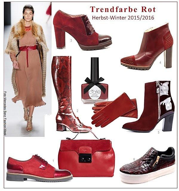 Schuhmode Trendfarben Herbst Winter 201516 Die Welt Der Schuhe