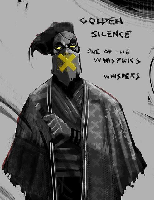 Golden-whisper