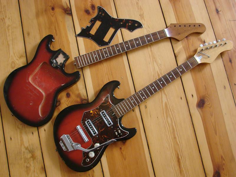 crackle guitar twins