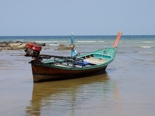 Longtail boat at Kamala beach